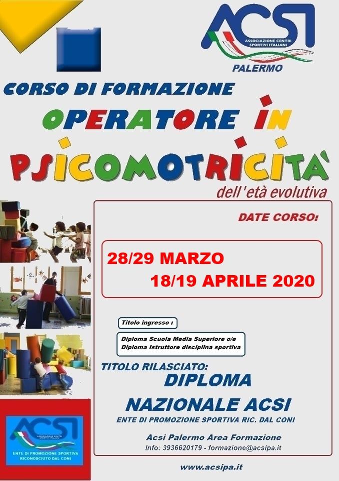 locandina PSICOMOTRICITA 7